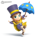 Hat Kid Smashified (transparent)