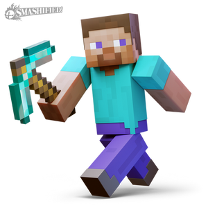Minecraft Steve... Smashified?