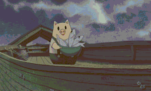 Cat Soup Gif Fave by Ellidegg