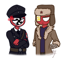 - CountryHumans - Third Reich and USSR by Koro-Megasaki-Andro4