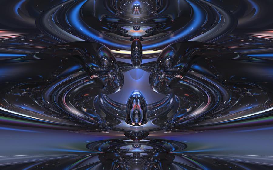 Alien Blues by timemit