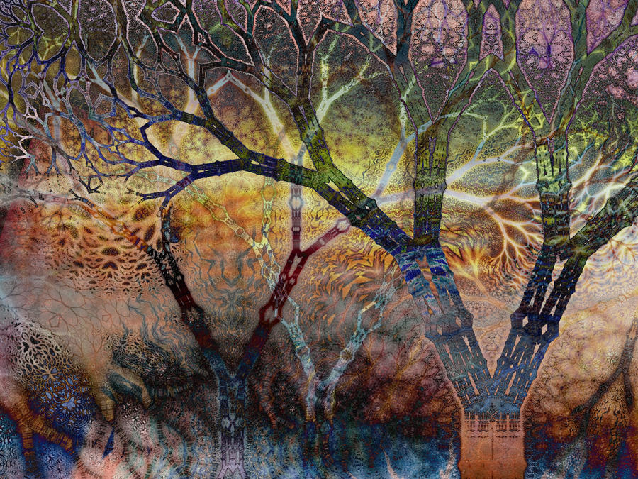 Synaptic Forests Fires