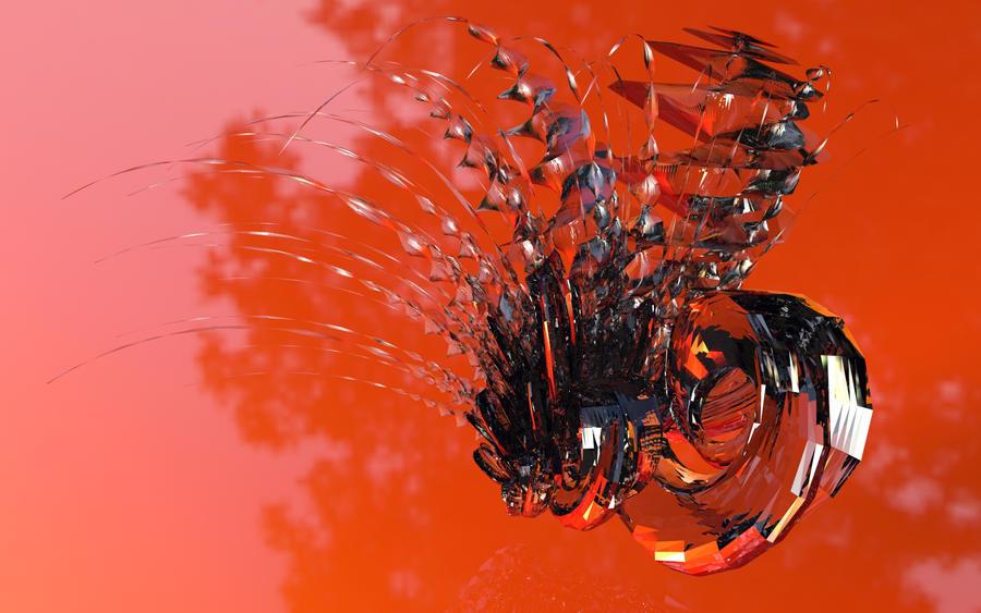 Orange Drift by timemit