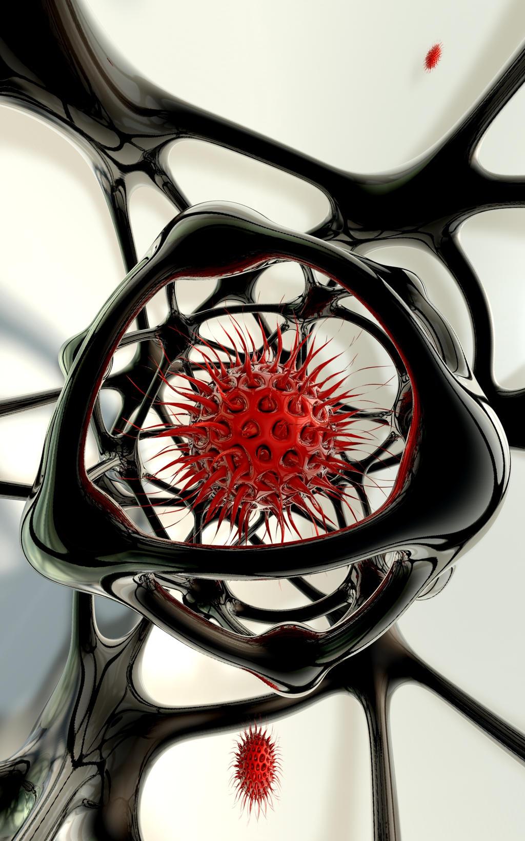 Virus Trap II by timemit