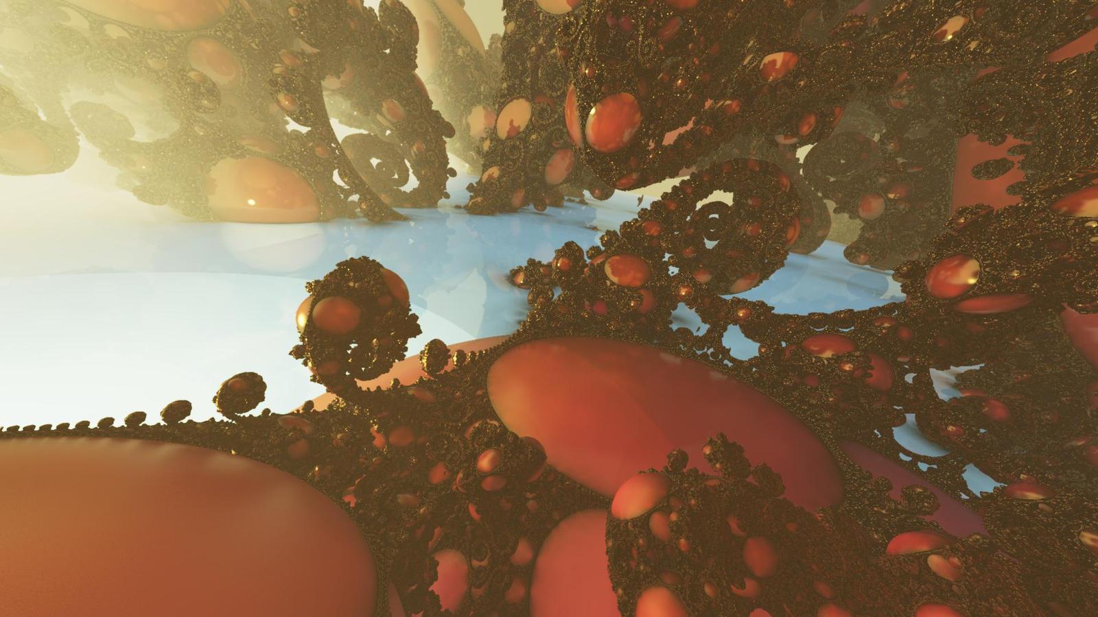 Rubies Garden by timemit