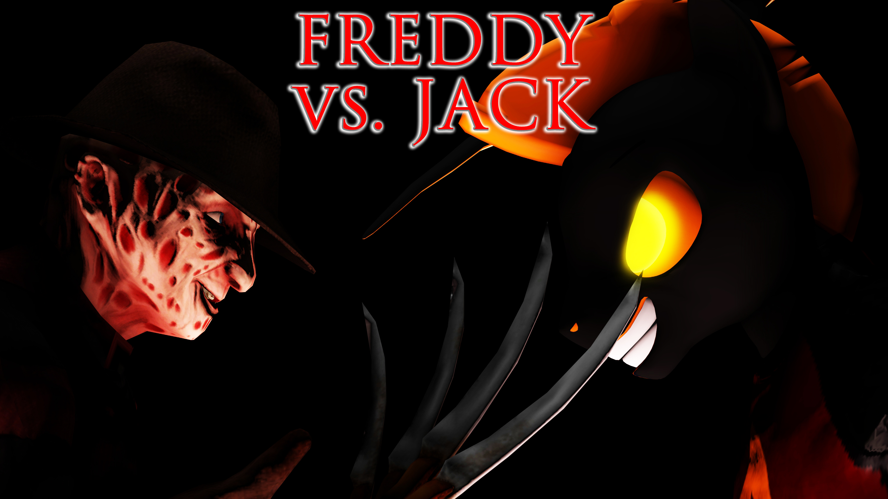 Freddy vs Jack by shrunkenlover
