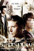 Supernatural Poster Season 4 by Jujikaworld