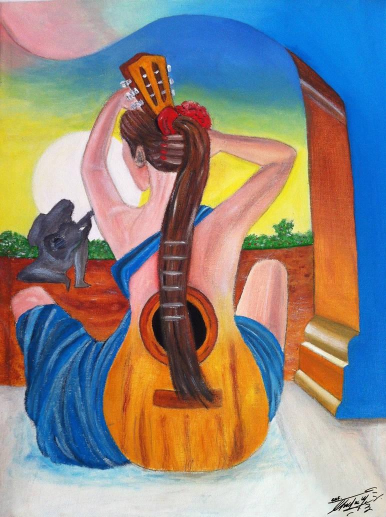 Guittar-Women by GeorgeXVII
