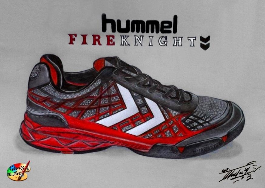 Hummel Fireknight X8 by George-B-Art