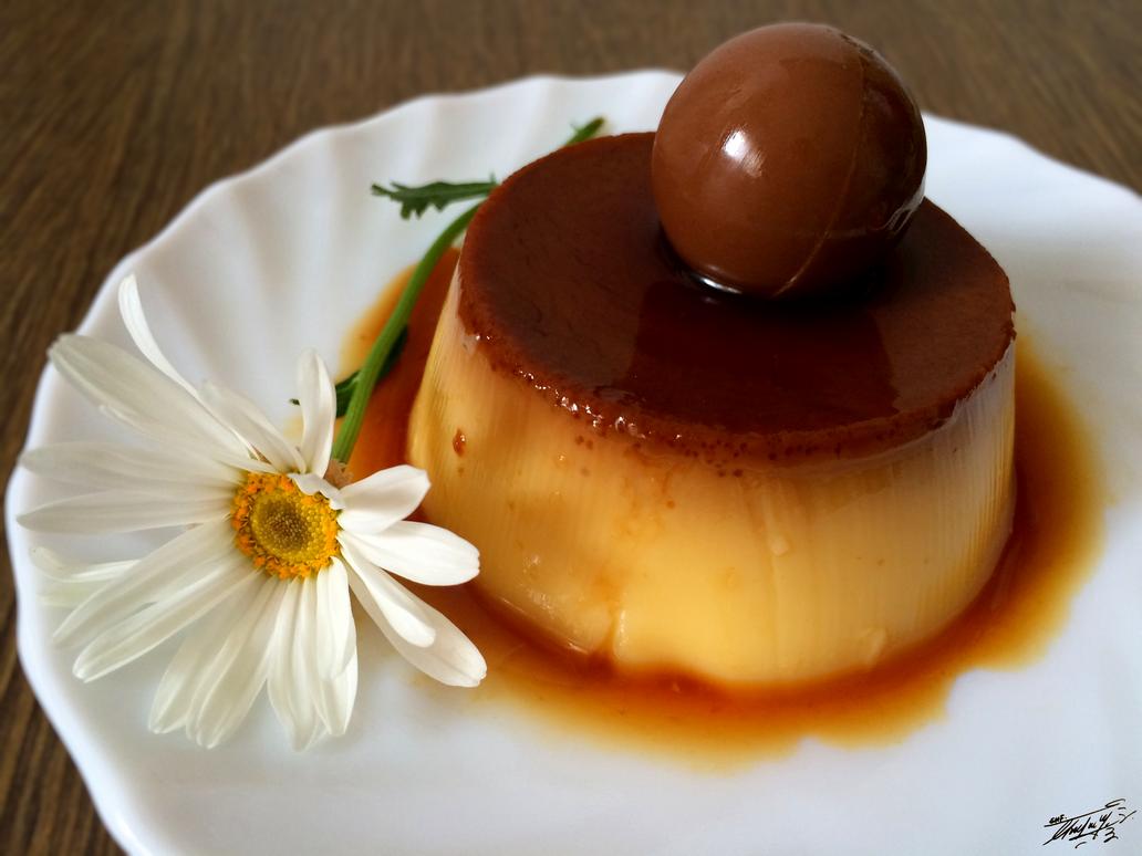 Custard pudding by GeorgeXVII