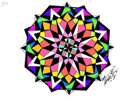 Mandala by GeorgeXVII