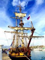 Shtandart (frigate) by GeorgeXVII