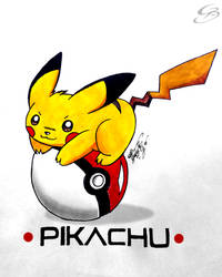 Pikachu by GeorgeXVII