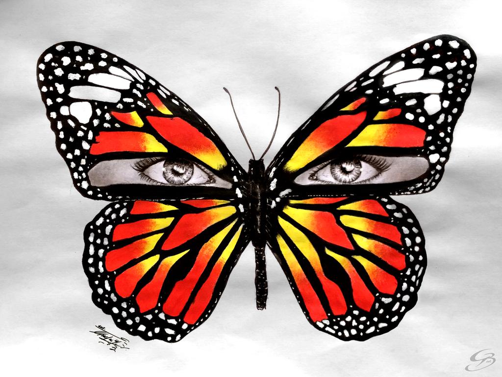 Butterfleyes by GeorgeXVII