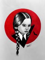 Wednesday Addams by GeorgeXVII