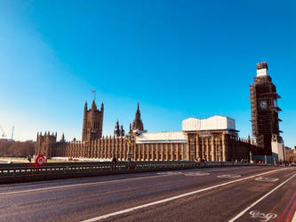 BigBen and the Westminster by GeorgeXVII