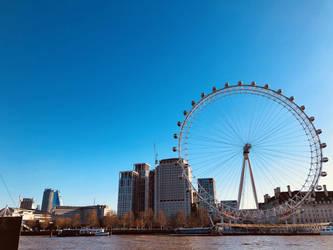 London Eye by GeorgeXVII