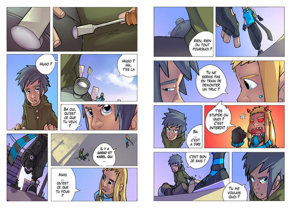 TdS - Page 01 - 02 by BlOoGuear