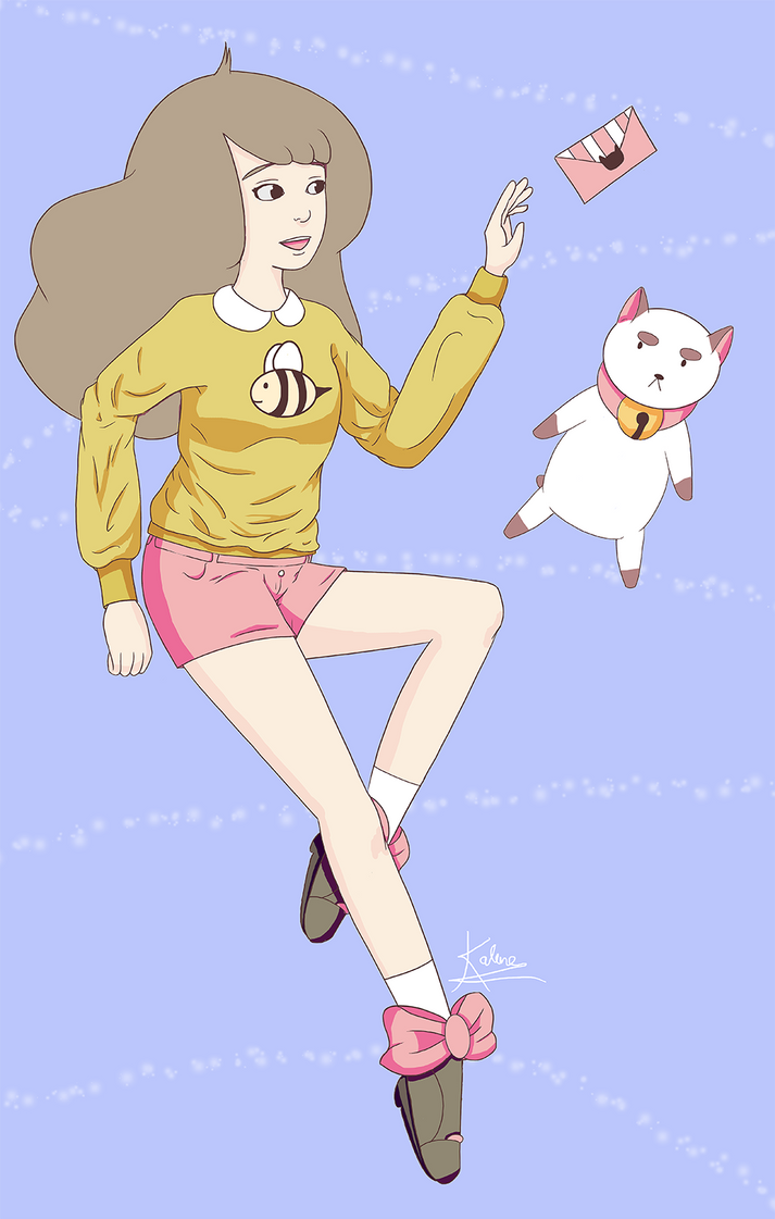 Bee And Puppycat by kittymacabre