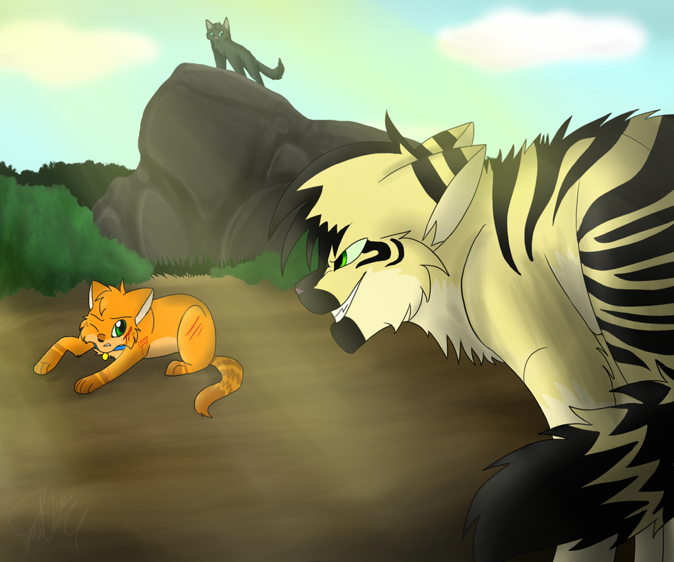 Warrior Cats Longtail Fighting Base