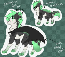 Mint Green ~Adopt~    CLOSED by FrostedKat