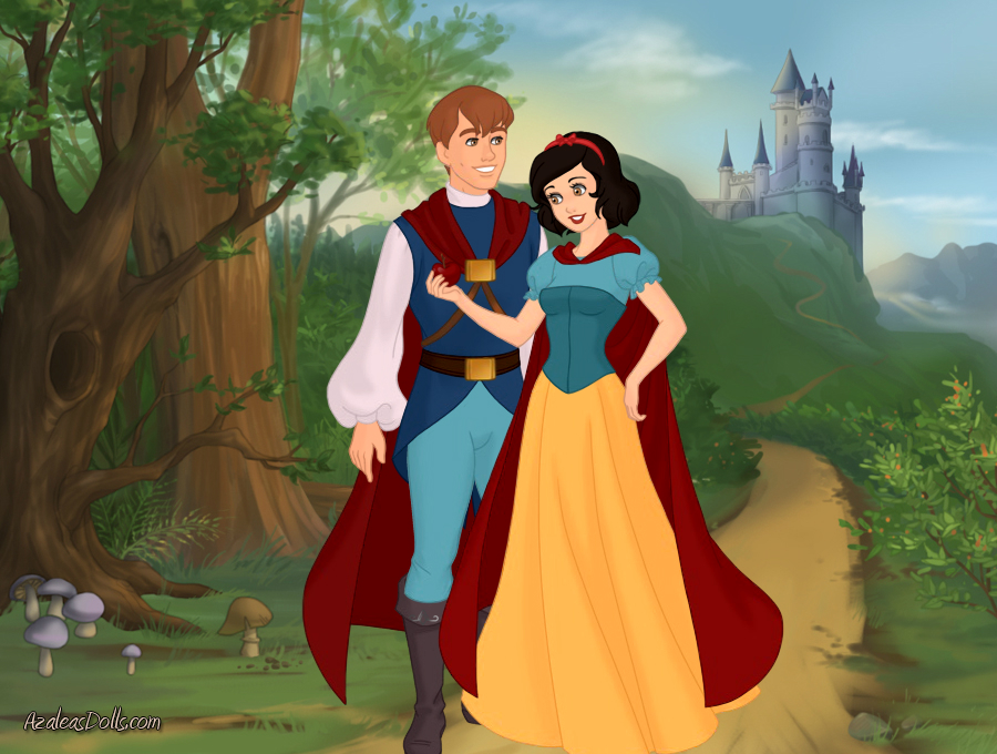 snow white and prince charming by brittanynoelseville on