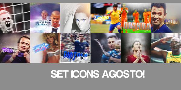 SET 12 ICONS AGOSTO   DAV. by Desne1O