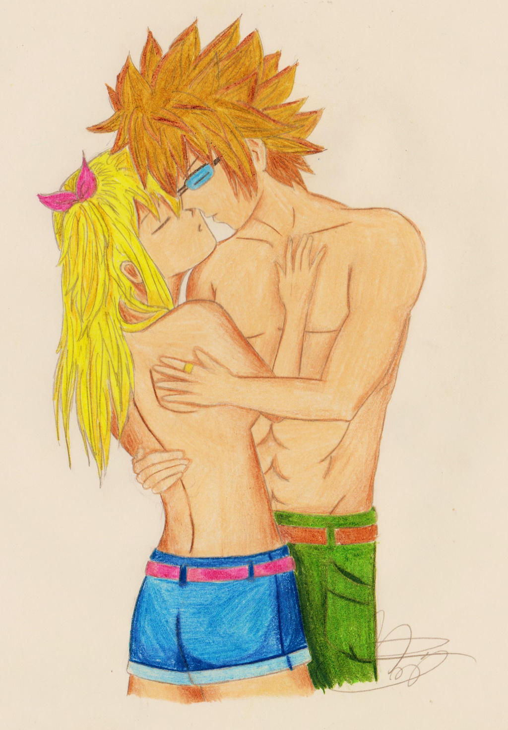 Fairy Tail Lucy And Loke Kiss You re mine now - lucy andFairy Tail Lucy And Loke Kiss