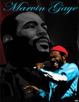 Marvin Gaye by funkydoodler