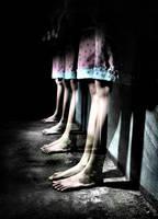 My restless feet by badlydrawndoll