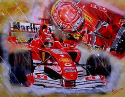 Michael Schumacher by LittleTesla