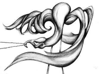 Fighting Flamingo by RedTweny