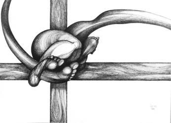 A modern crucifix by RedTweny