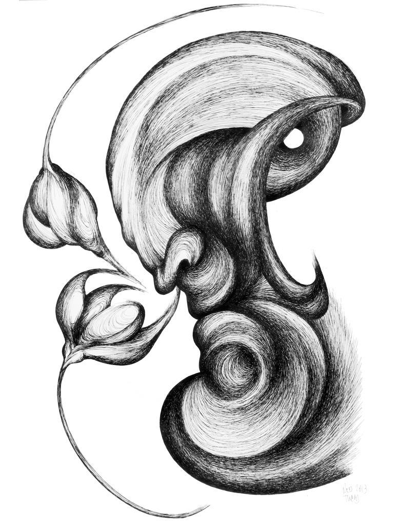 Two Flowers by RedTweny