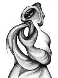 Black scream by RedTweny