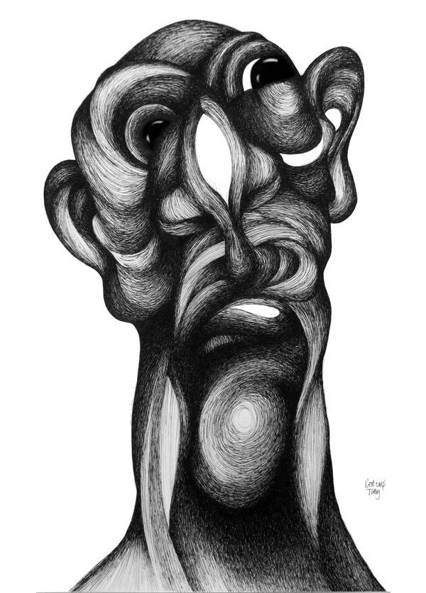 Oblong mask 3 by RedTweny