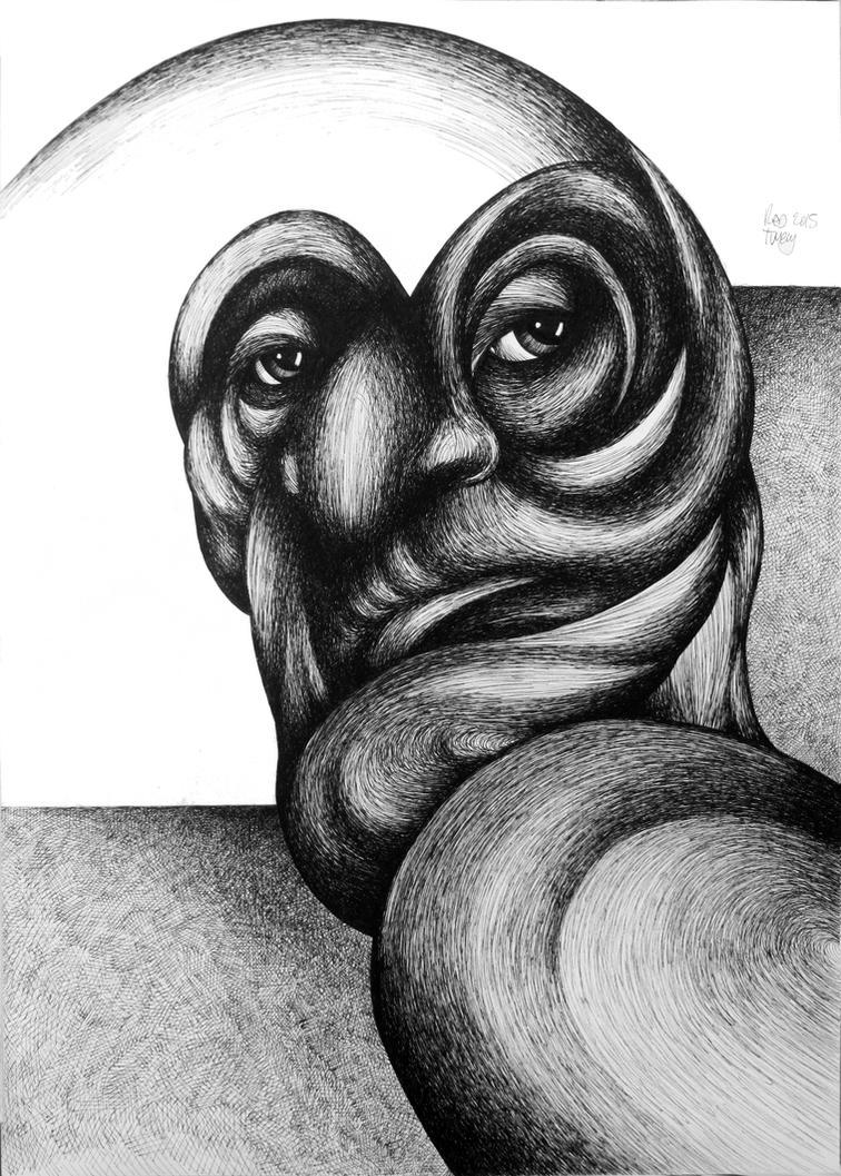 Turning Face by RedTweny