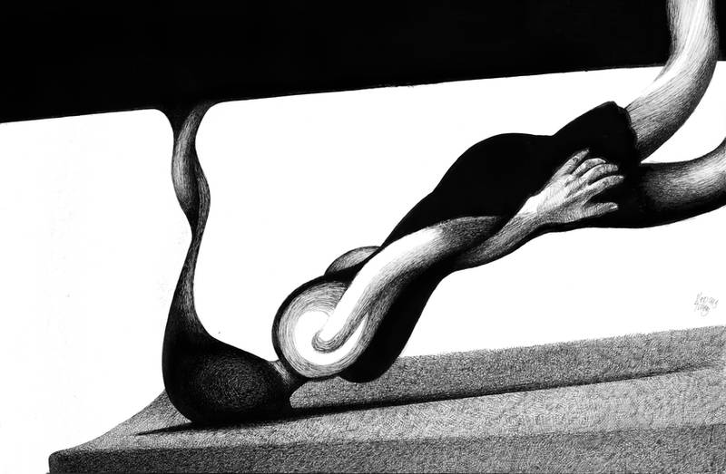 The tangle by RedTweny