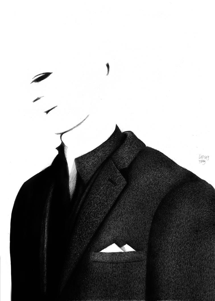 White Portrait by RedTweny