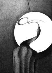 The Big White Pendulum by RedTweny