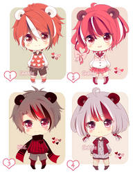 [CLOSED] Valentine Adoptable Auction by ChixMite