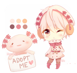 [CLOSED] Axolotl Cheeb Adopt by ChixMite