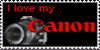Love my canon Stamp by canonlove2