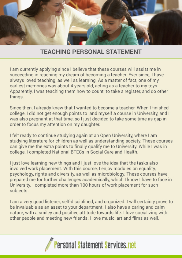 best personal statements ever written View our top rated personal statement examples from our library of over 1900.