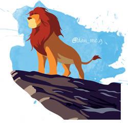 The Lion King Minimalist by DanMcG2018