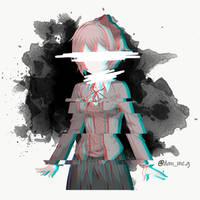 Doki Doki Literature Club Minimalist (Sayori Dark)
