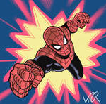 Colored Spider-Man