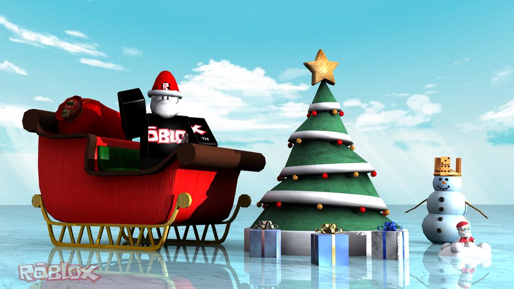 roblox christmas background 1920x1080 -#main