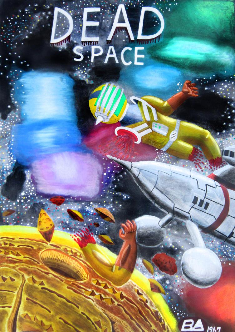 Atompunk retro Dead Space(60s sci fi style) by Chen-Bo-Quan