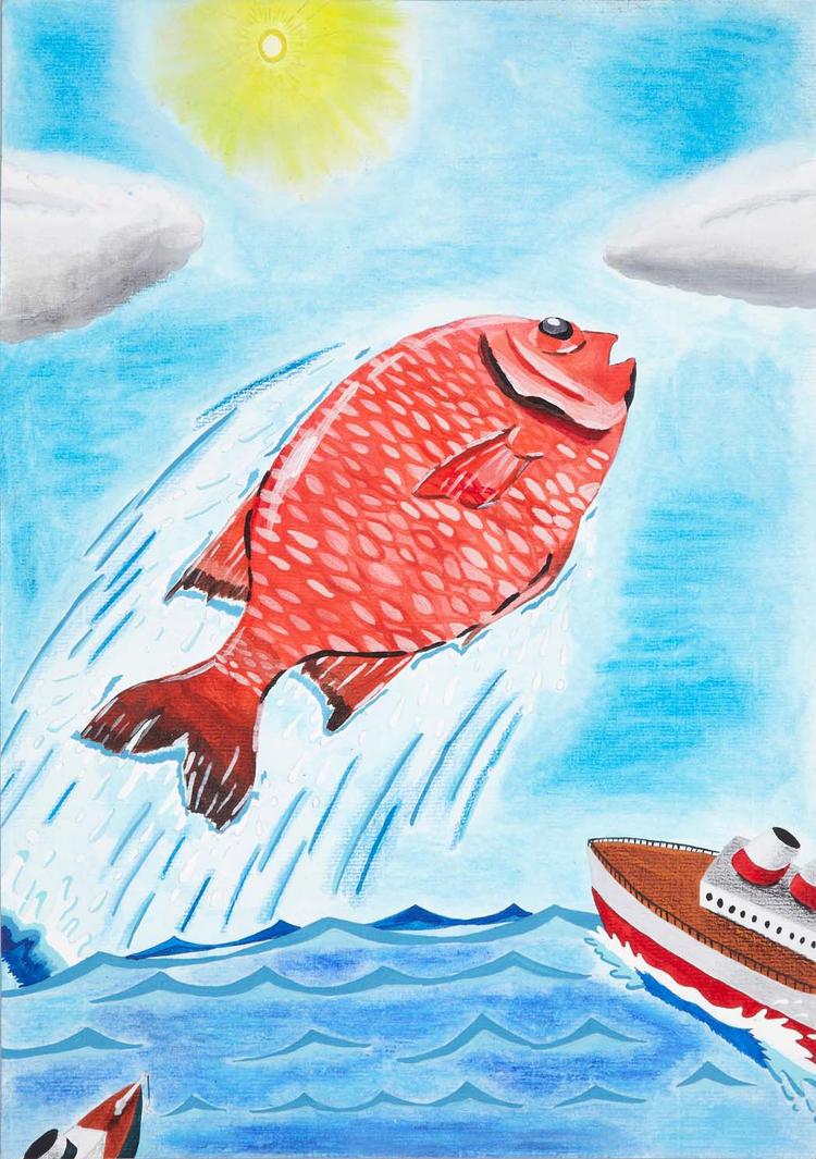 Huge sea bream by Chen-Bo-Quan